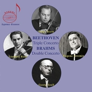 Beethoven Triple Concerto, Brahms Double Concerto : Stern(Vn)L.Rose(Vc)Istomin(P)Szell / Celeveland Orchestra (1966 Live)