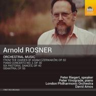 ゲマトリア、ピアノ協奏曲第2番、6つの田園舞曲、他 デイヴィッド・エイモス&ロンドン・フィル、ピーター・ヴィノグレード