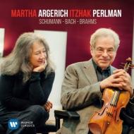 バッハ:ヴァイオリン・ソナタ第4番、シューマン:幻想小曲集、ブラームス:スケルツォ イツァーク・パールマン、マルタ・アルゲリッチ