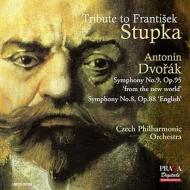 交響曲第9番『新世界より』、第8番 フランティシェク・ストゥプカ&チェコ・フィル