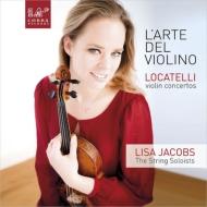 ヴァイオリン協奏曲集 リサ・ヤーコプス、ザ・ストリング・ソロイスツ