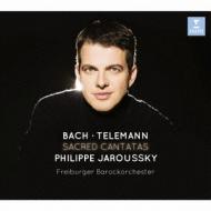 Cantata, 82, 170, : Jaroussky(Ct)Freiburg Baroque O +telemann: Cantatas