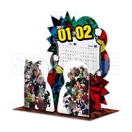 僕のヒーローアカデミア コミックカレンダー2017 卓上ジオラマ
