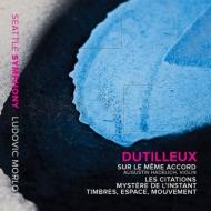 『同じ和音の上に』『引用』『音色、空間、運動』 オーガスティン・ハーデリッヒ、マハン・エスファハニ、リュドヴィク・モルロー&シアトル交響楽団