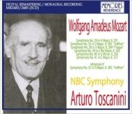 交響曲第29、35、38、39、40、41番 アルトゥーロ・トスカニーニ&NBC交響楽団(1937-1948)(リハーサル付)(3CD)
