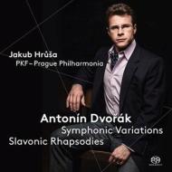 交響的変奏曲、スラヴ狂詩曲第1番、第2番、第3番 ヤクブ・フルシャ&プラハ・フィルハーモニア