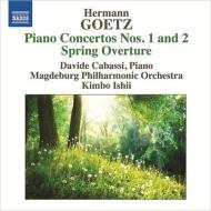 ピアノ協奏曲第1番、第2番、春の序曲 ダヴィデ・カバッシ、キンボー・イシイ&マグデブルク・フィル