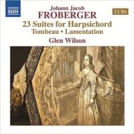 チェンバロのための23の組曲、トンボー、哀悼歌 グレン・ウィルソン(2CD)