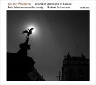 メンデルスゾーン:ヴァイオリン協奏曲、シューマン:ヴァイオリン協奏曲 カロリン・ヴィトマン、ヨーロッパ室内管弦楽団