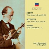 Brahms Violin Sonatas Nos.1, 2, 3, Mzart Violin Sonata No.40, Brrthoven Violin Sonata No.9 : Georg Kulenkampff(Vn)Georg Solti(P)(2CD)
