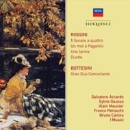 弦楽のためのソナタ集、パガニーニに寄せるひと言、他 サルヴァトーレ・アッカルド、ブルーノ・カニーノ、ガゾー、ムニエ、他(2CD)