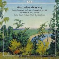 ヴァイオリン・ソナタ第1,2,3,6番、2つのヴァイオリンのためのソナタ、他 シュテファン・キルパル、アンドレアス・キルパル、グンドゥラ・キルパル(2CD)