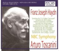交響曲第31、88、92、94、98、99、101、104番 アルトゥーロ・トスカニーニ&NBC交響楽団(3CD)