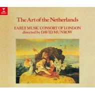 『ネーデルランド楽派の音楽』 デイヴィッド・マンロウ&ロンドン古楽コンソート(3CD)