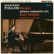 ピアノ協奏曲第1番、英雄ポロネーズ、夜想曲集、バラード第1番 マウリツィオ・ポリーニ、パウル・クレツキ&フィルハーモニア管弦楽団(1960,1968)
