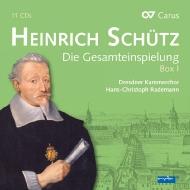 ハインリヒ・シュッツ作品集 ハンス=クリストフ・ラーデマン&ドレスデン室内合唱団(11CD+1DVD)