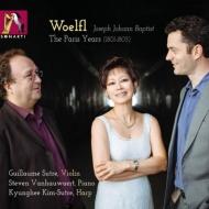 Grand Duos, Violin Sonata, Piano Sonata: Kyunghee Kim-sutre(Hp)Sutre(Vn)Vanhauwaert(P)