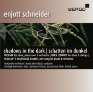 Shadows In The Dark: C.hartmann(Ob)Triendl(P)Edusei / Vienna Tonkunstler O