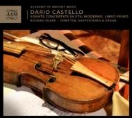 カステッロ、ダリオ(c.1590-1644)/Sonate Concertate In Stil Moderno Book 1 : Egarr(Cemb Organ) Aam