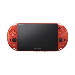 Game Hard/Playstation Vita Wi-fiモデル Pch-2000シリーズ メタリック・レッド