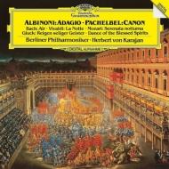 アルビノーニのアダージョ、パッヘルベルのカノン、G線上のアリア、聖霊の踊り、他 ヘルベルト・フォン・カラヤン&ベルリン・フィル(1983)