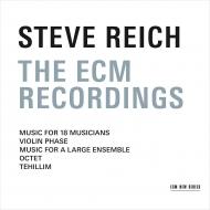 ECM録音集〜18人の音楽家のための音楽、ヴァイオリン・フェイズ、テヒリーム、他 スティーヴ・ライヒ&ミュージシャンズ(3CD)