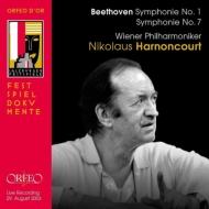 交響曲第7番、第1番 ニコラウス・アーノンクール&ウィーン・フィル(2003年ザルツブルク・ライヴ)