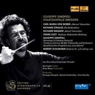 Giuseppe Sinopoli / Staatskapelle Dresden : R.Strauss Ein Heldenleben, Schumann Symphony No.4, etc +Sinopoli : Cambreling / Ruzicka / (2CD)