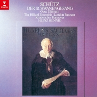 Schwanengesang: Hennig / Hilliard Ensemble London Baroque