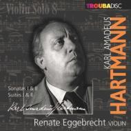 Violin Solo Sonata, 1, 2, Suite, 1, 2, : Eggebrecht