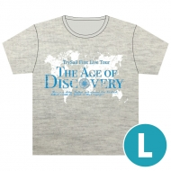 "ツアーTシャツ【L】 / TrySail First Live Tour ""The Age of Discovery"""