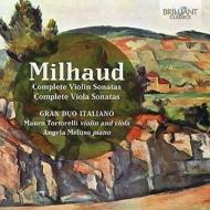 ヴァイオリン・ソナタ、ヴィオラ・ソナタ全集 グラン・デュオ・イタリアーノ(2CD)