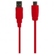 クラシックミニFC USB給電ケーブル レッド1.2m