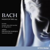 バッハ:マニフィカト、クーナウ:なんと美しく輝く暁の星 アレクサンダー・ヴァイマン&アリオン・バロック・オーケストラ