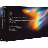 交響曲全集 ラファエル・フリューベック・デ・ブルゴス&デンマーク国立交響楽団(+ベルリオーズ:幻想交響曲、R.シュトラウス:アルプス交響曲、他)(6DVD)