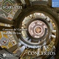 協奏曲とオペラ序曲集 マルチェロ・ディ・リーザ&コンチェルト・デ・カヴァリエーリ