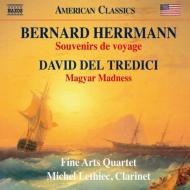 ハーマン:クラリネット五重奏曲『旅のおみやげ』、デル・トレディチ:マジャールの狂気 ミシェル・ルティエク、ファイン・アーツ四重奏団
