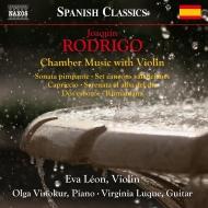 ヴァイオリンを伴う室内楽作品集 エバ・レオン、オルガ・ヴィノクール、ヴァージニア・ルケ