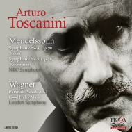 Sym, 4, 5, : Toscanini / Nbc So +wagner: Lso