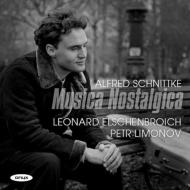 ムジカ・ノスタルジカ、チェロ・ソナタ第1番、オレグ・カガンの思い出に、古い様式による組曲 レオナルト・エルシェンブロイヒ、ペトル・リモノフ