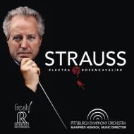 Der Rosenkavalier Suite, Elektra Suite : Manfred Honeck / Pittsburgh Symphony Orchestra (Hybrid)