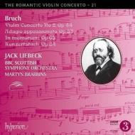 ヴァイオリン協奏曲第2番、イン・メモリアム、コンツェルトシュテュック、他 ジャック・リーベック、マーティン・ブラビンズ&BBCスコティッシュ響