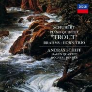 Schubert Piano Quintet, Brahms Horn Trio : Andras Schiff(P)Hagen Quartet, Hogner(Hr)Binder(Vn)