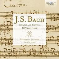 無伴奏ヴァイオリンのためのソナタとパルティータ全曲 フランチェスコ・テオピーニ(ギター)(2CD)