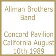 Concord Pavilion, Concord, California August 10th 1989
