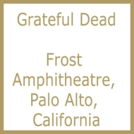 Frost Amphitheatre, Palo Alto, California May 7 1989