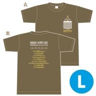 Tシャツ(チャコール)【L】 / Live Tour 〜シモツキンの大冒険〜