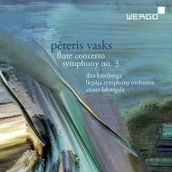 交響曲第3番、フルート協奏曲 アトヴァルス・ラクスティガラ&リエパーヤ交響楽団、ディタ・クレンベルガ