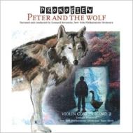 Peter & Wolf, Violin Concerto, 2, : Bernstein / Nyp Stern(Vn)