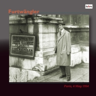 Wilhelm Furtwangler / Berlin Philharmonic Live in Paris 1954 (2CD)